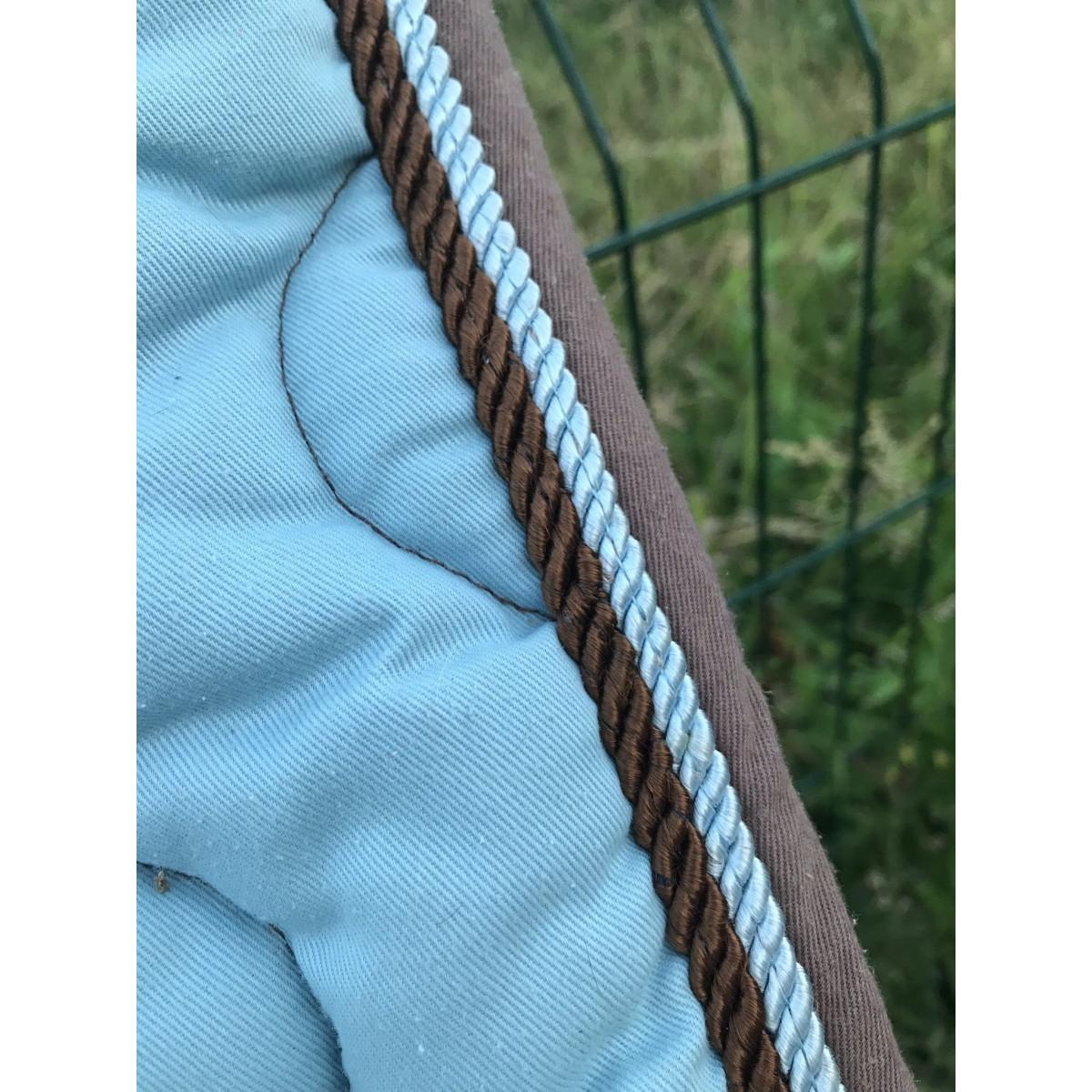 tapis performance bleu et marron